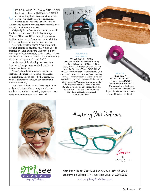 7f005ecf6a64 Boulevard Magazine - February   March 2017 Issue by Boulevard Magazine -  issuu