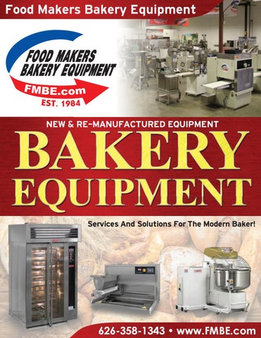 Bakery Equipment Catalog By Food Makers