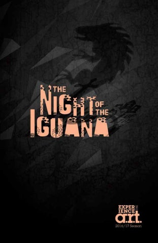 The Night Of The Iguana Art Program By American Repertory Theater