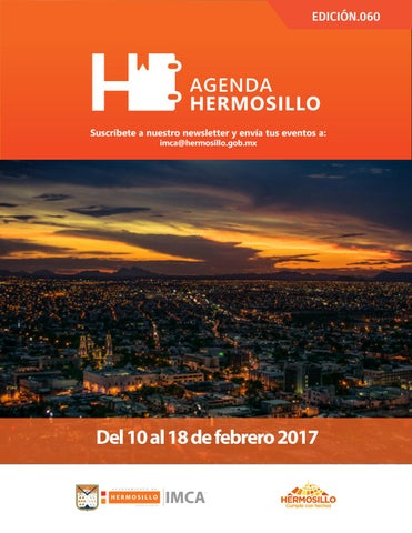 "Cover of ""Agenda Hermosillo 10 feb 2017"""
