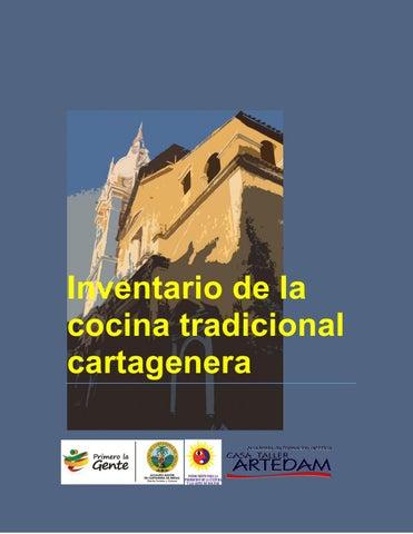 Inventario cocina tradicional cartagenera by Cocina Identidad - issuu 7d4b70fc3fc