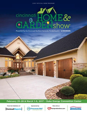 pleasing home and garden tv shows.  2017 OFFICIAL SHOW PROGRAM Cincinnati Home Garden Show by Magazine issuu