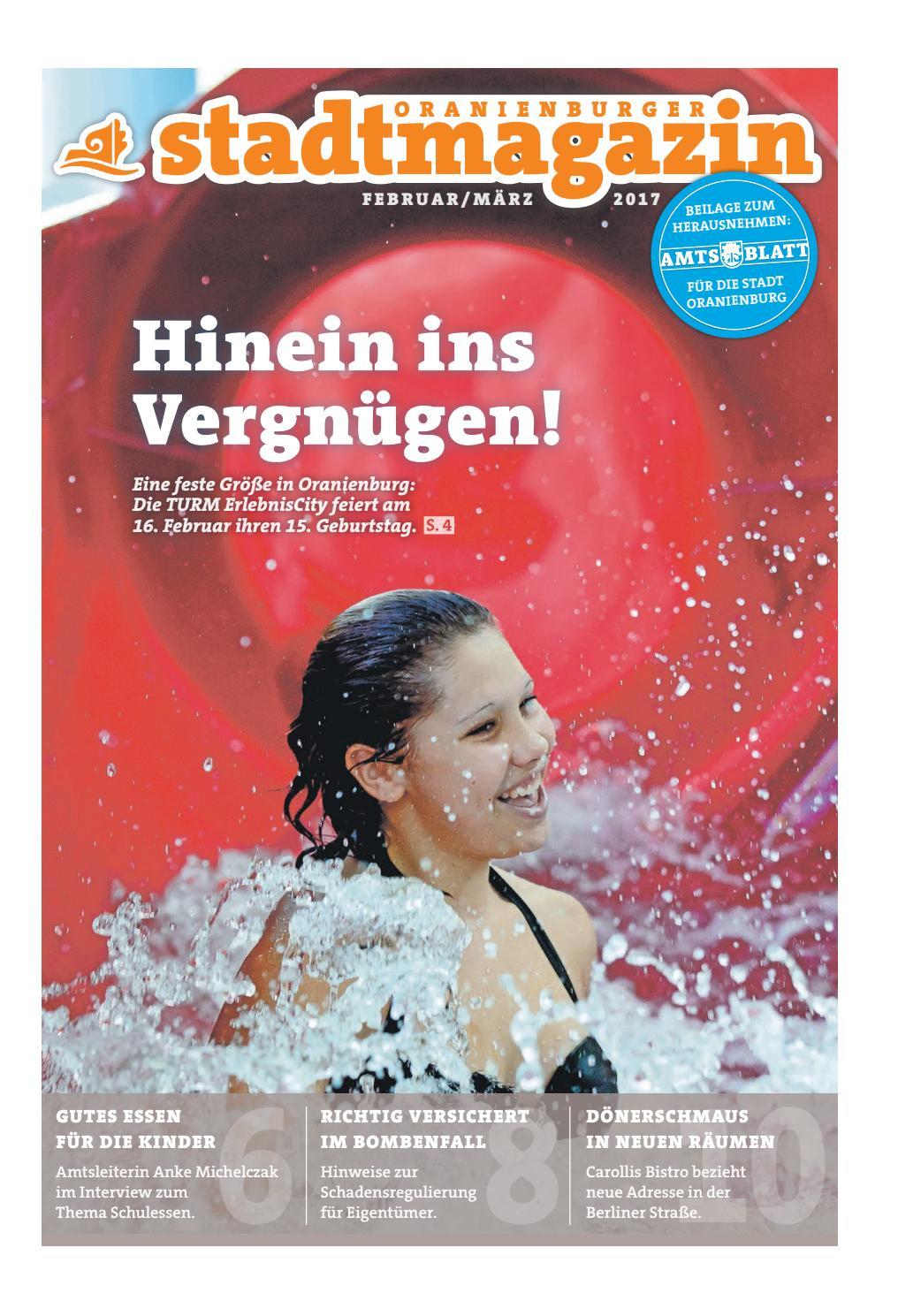 Oranienburger Stadtmagazin (Februar 2017) By Stadt Oranienburg   Issuu