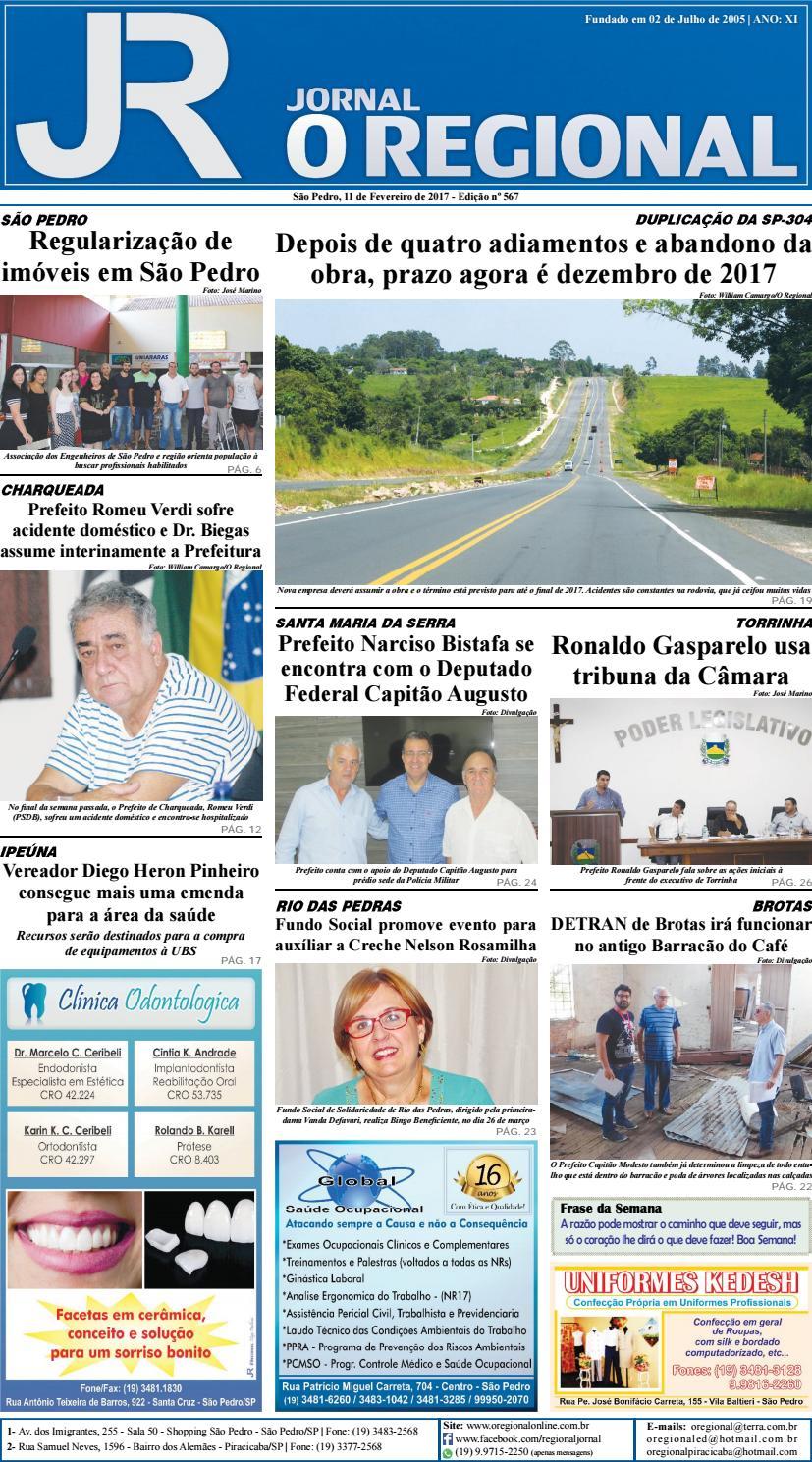 7806aac57d Jornal o regional edição 567 11 02 2017 site by Jornal O Regional - issuu