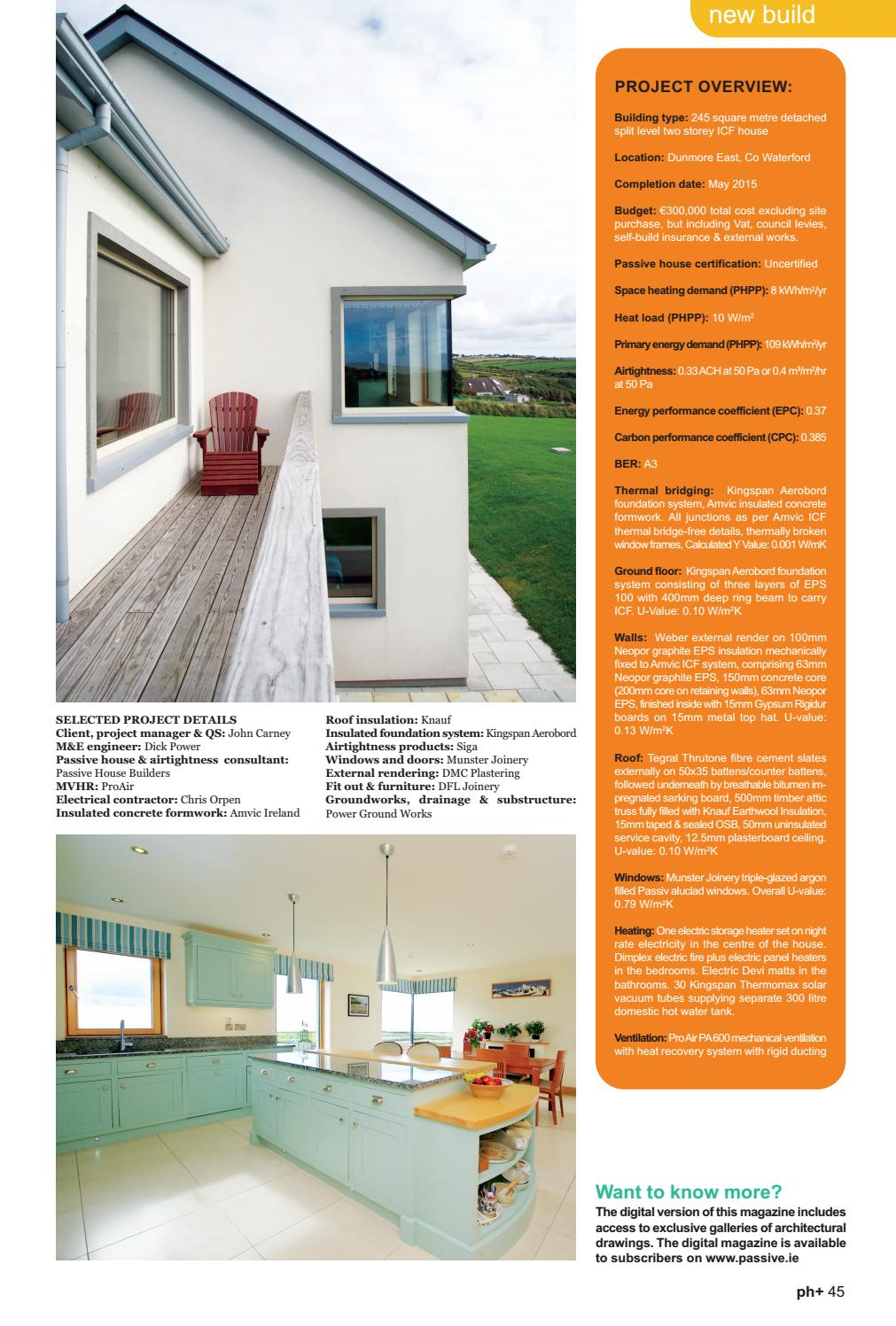 Passive House Plus Issue 13 Irish Edition By Electric Issuu