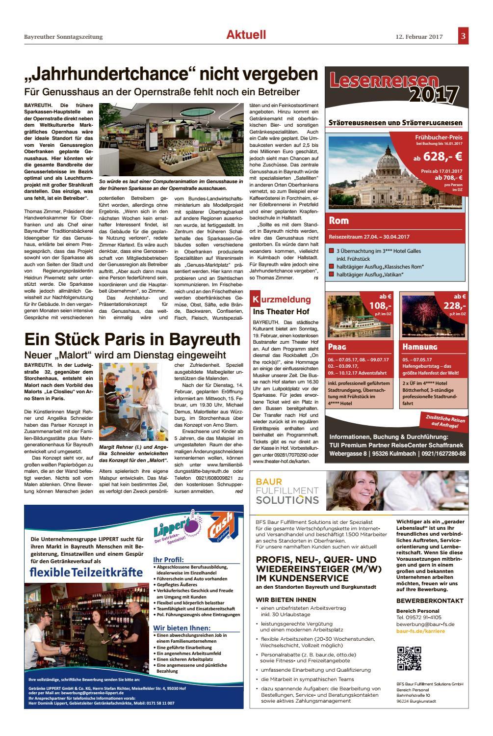 Bayreuther sonntagszeitung vom 12 02 2017 by Bayreuther ...