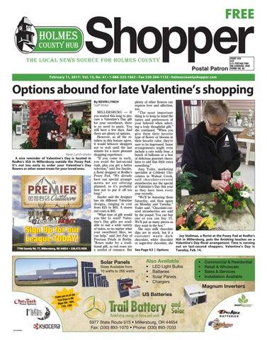 Holmes County Hub Shopper, Feb  11, 2017 by GateHouse Media