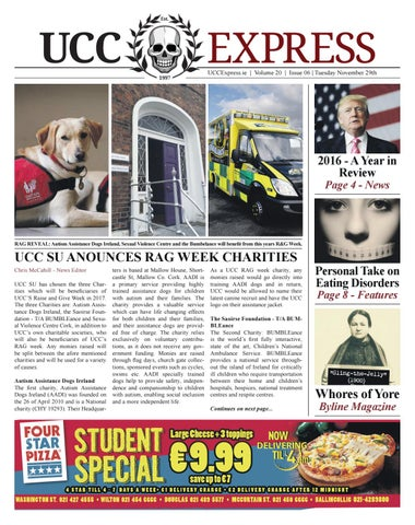 Ucc Express Vol20 Issue 6 By University Express Issuu