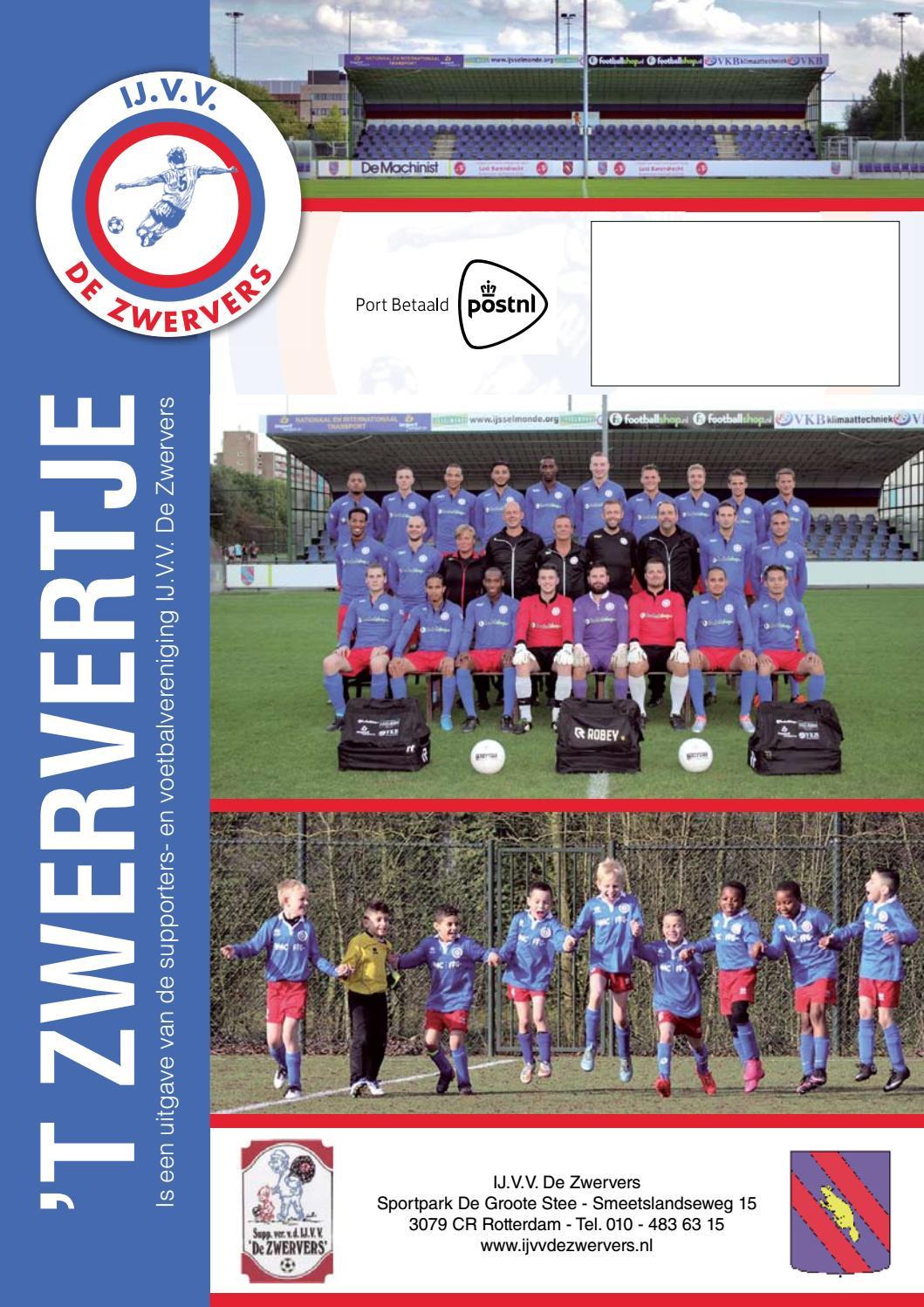 t Zwervertje editie 3 seizoen 20162017 by IJVV De Zwervers