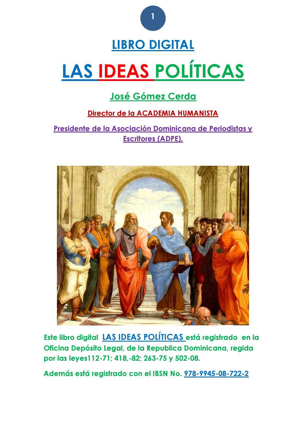 001 libro las ideas políticas by JOSE GOMEZ CERDA - issuu