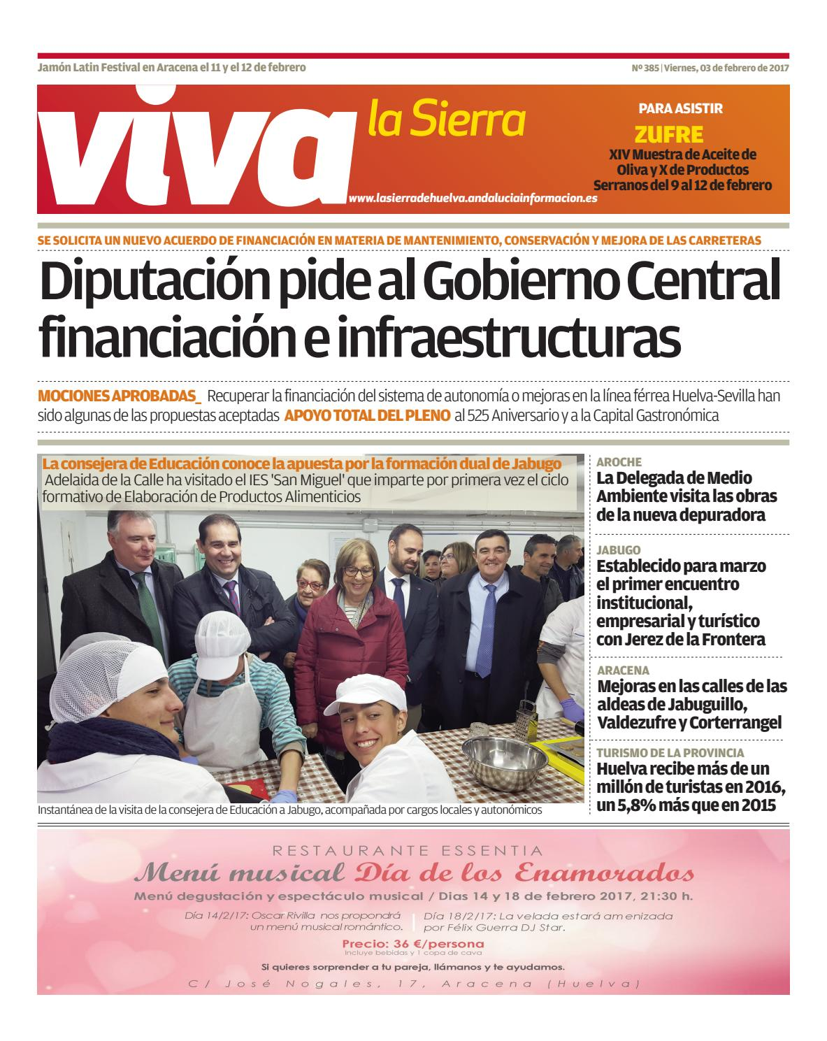 Viva la sierra 03 02 17 by onubactual - issuu