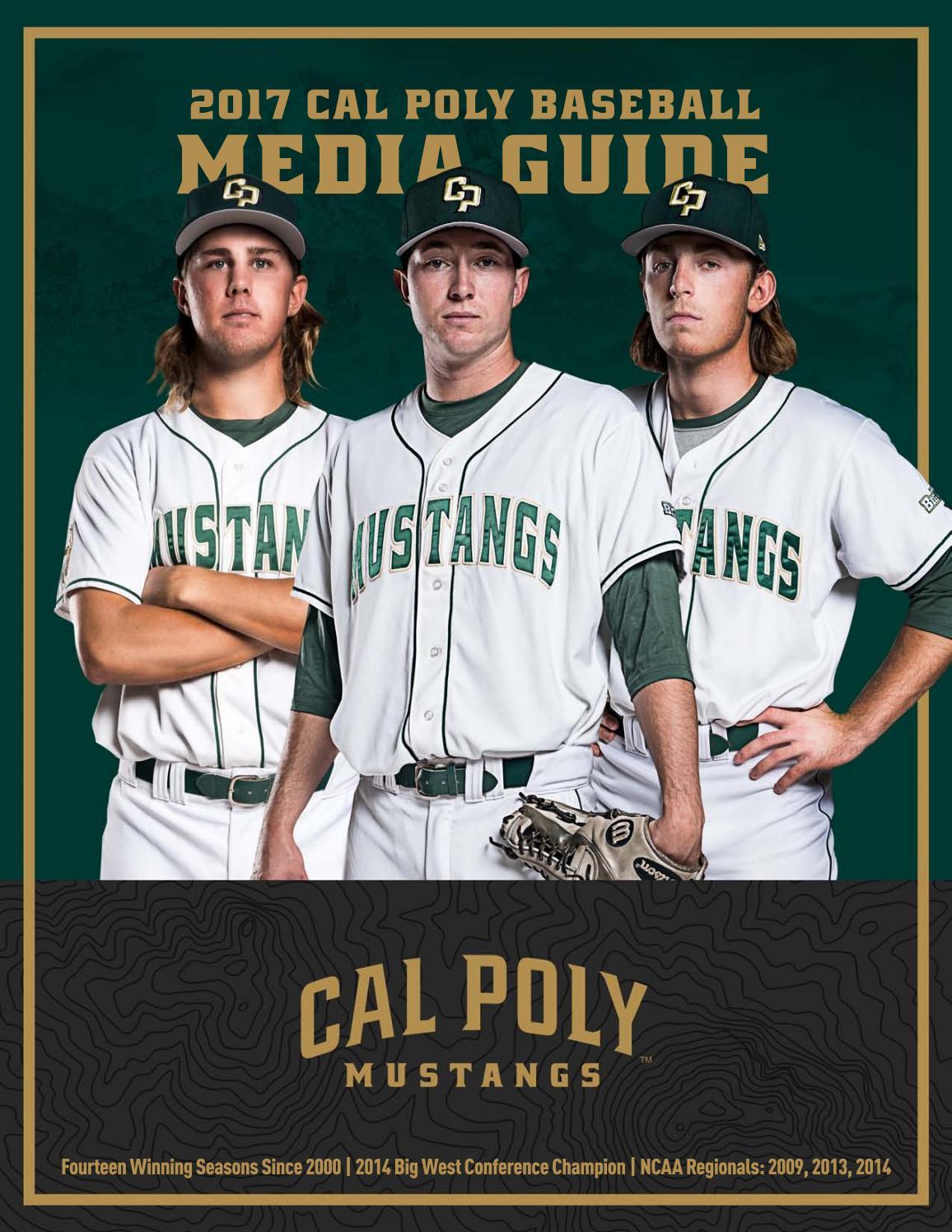 fe00b35b9f0 2017 Cal Poly Baseball Media Guide by Cal Poly Athletics - issuu