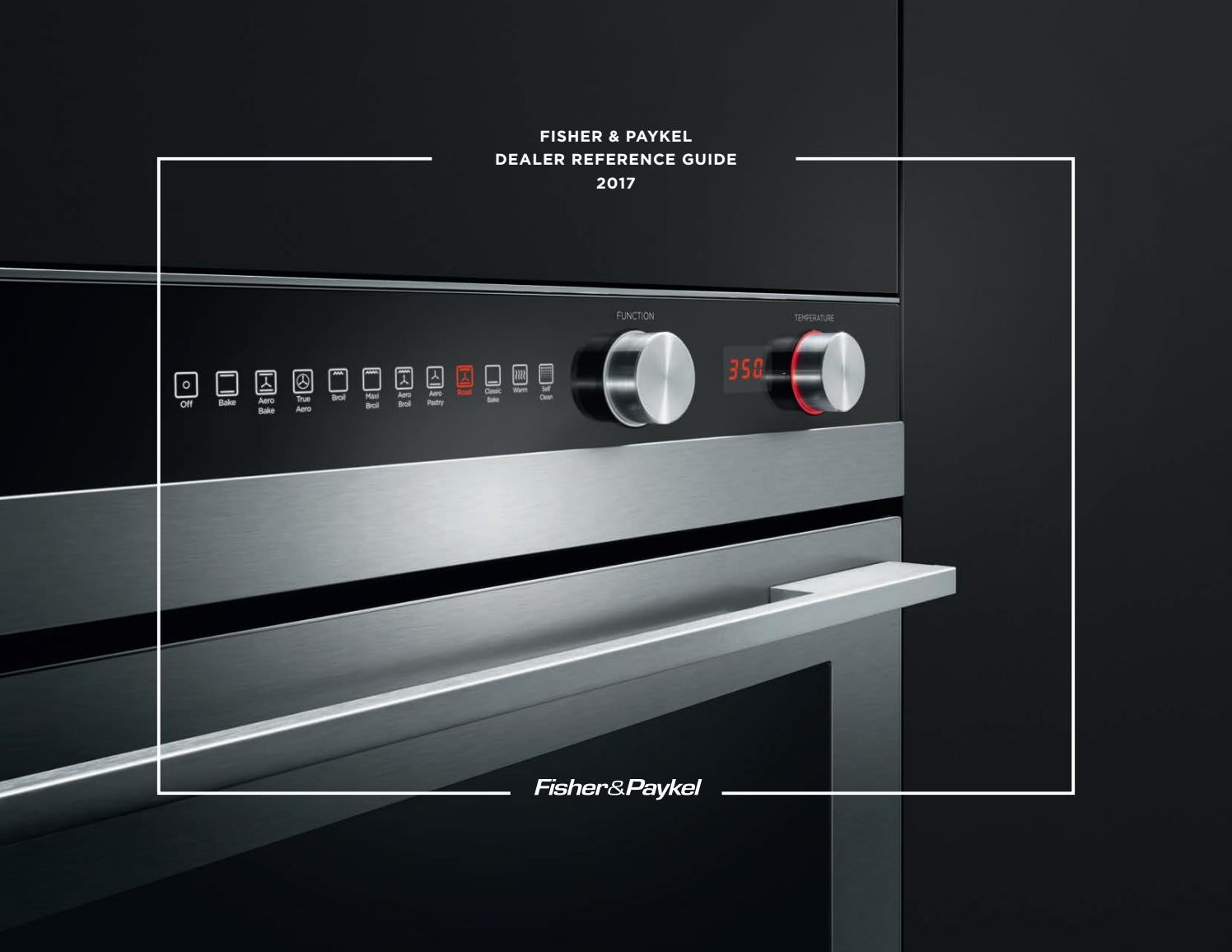Fisher & Paykel USA/CA Product Catalog 2017