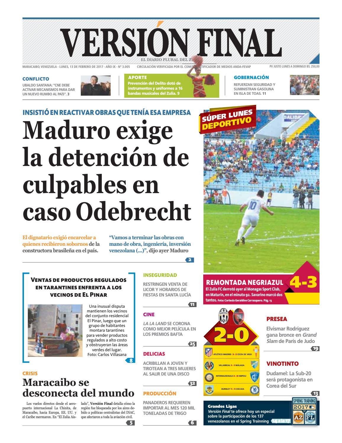 Diario Versión Final by Diario Versión Final - issuu 7fc3ba19a053a