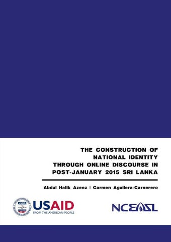 The Construction of National Identity through Online Discourse by