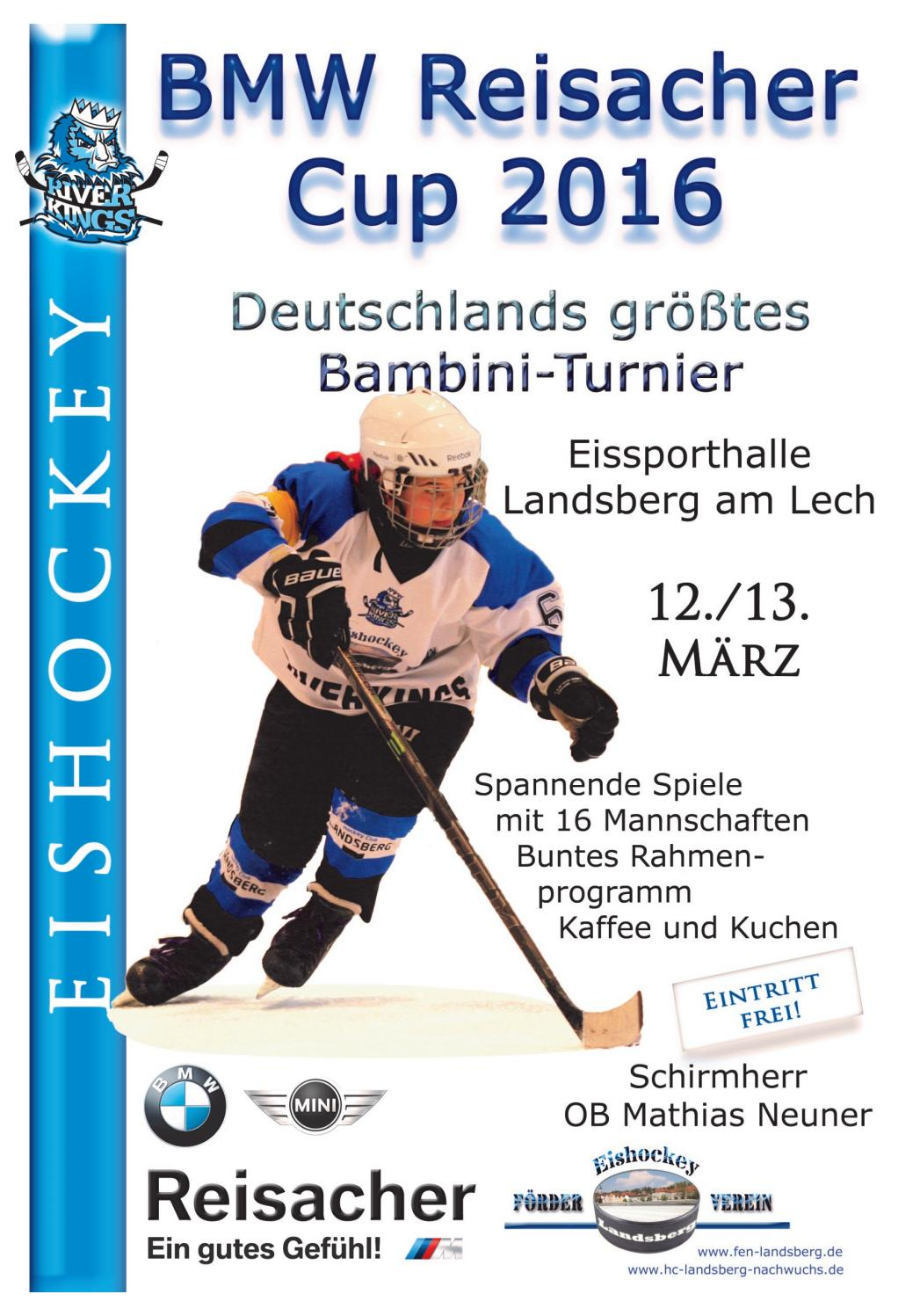 BMW Reisacher Cup 2016 by Eishockey Landsberg - issuu