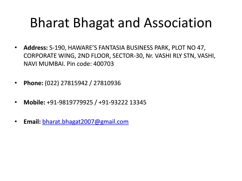 Bharat bhagat and association by bharatbhagat - issuu