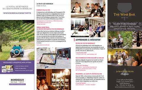office de tourisme bordeaux brochure