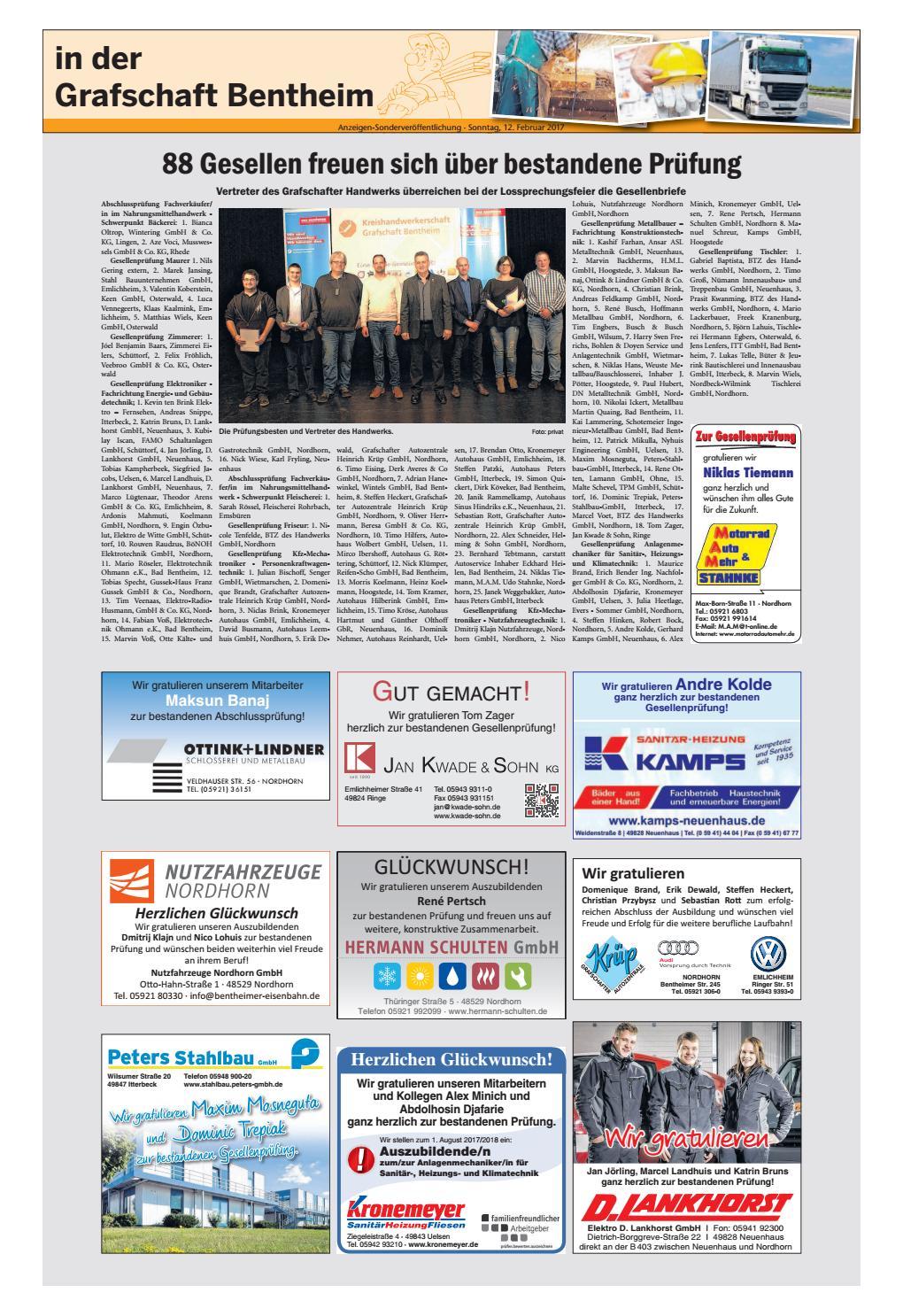 Len Nordhorn sonntagszeitung 12 02 2017 by sonntagszeitung issuu