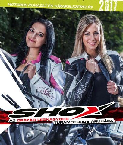 SHOX Motoros Áruház 2017-es katalógus by Shox Kft. - issuu a33f87c9c5