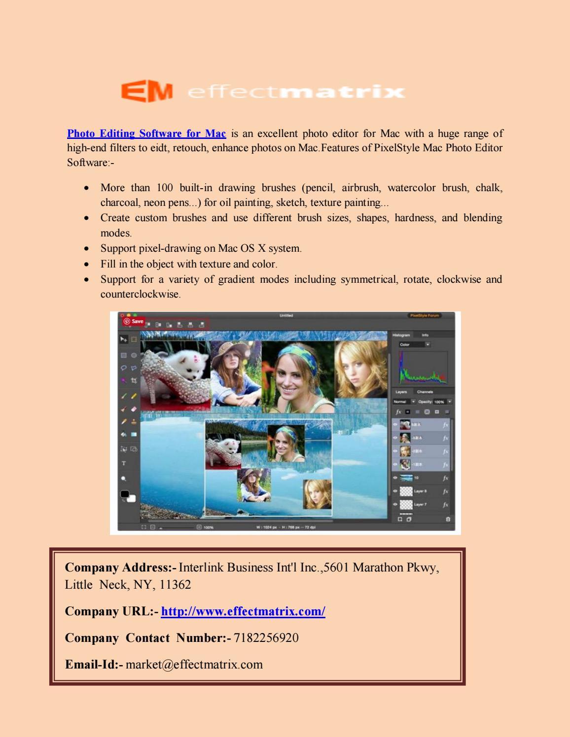 MAC Photo Editor – Photo Editing Software for Mac by leey kate - issuu