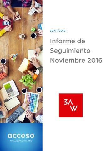 4cc382e7718f Dossier Schindler noviembre 2016 by 3AWW - issuu