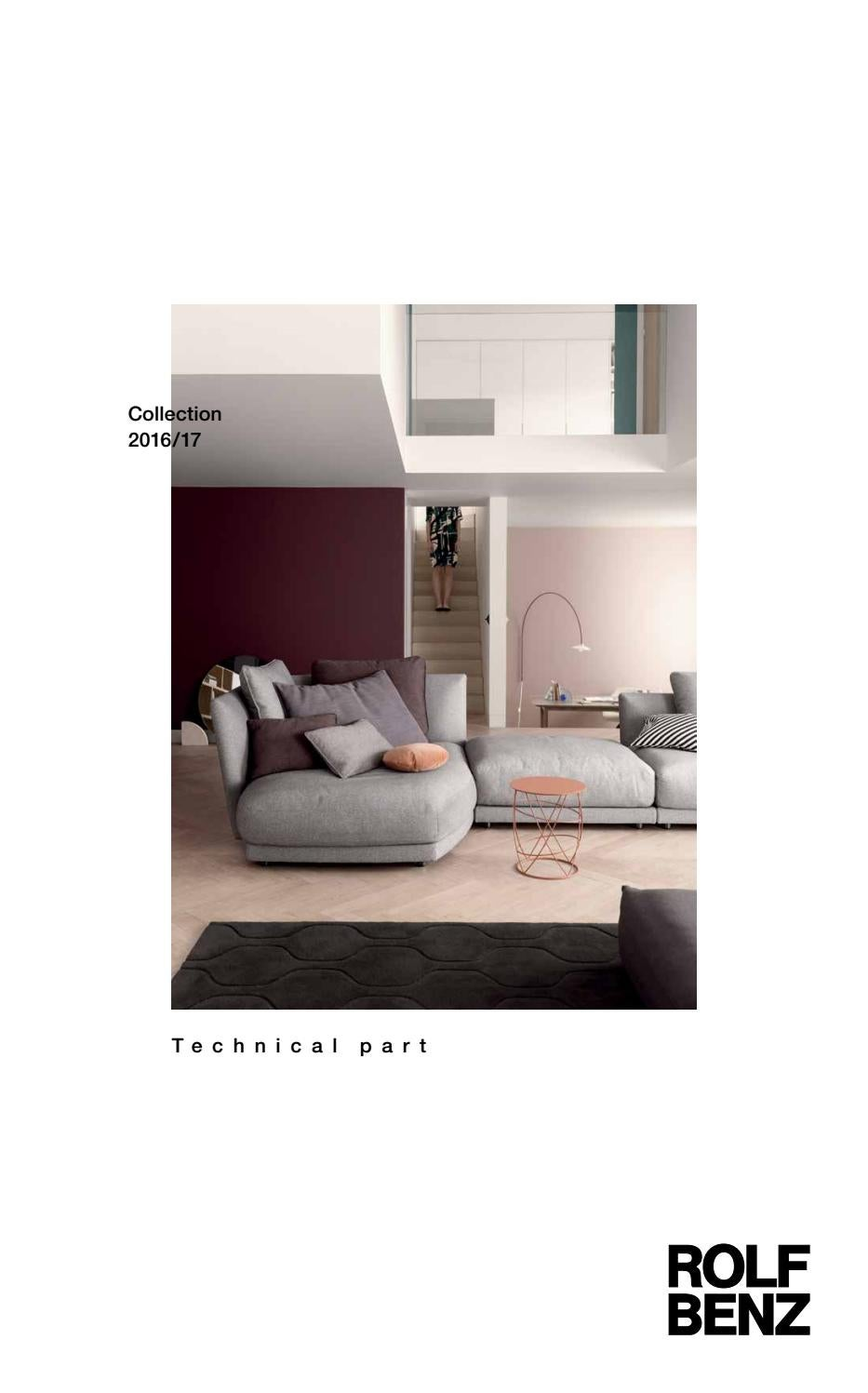 Rolf benz katalog 2017 dane techniczne by domatoria issuu for Rolf benz katalog