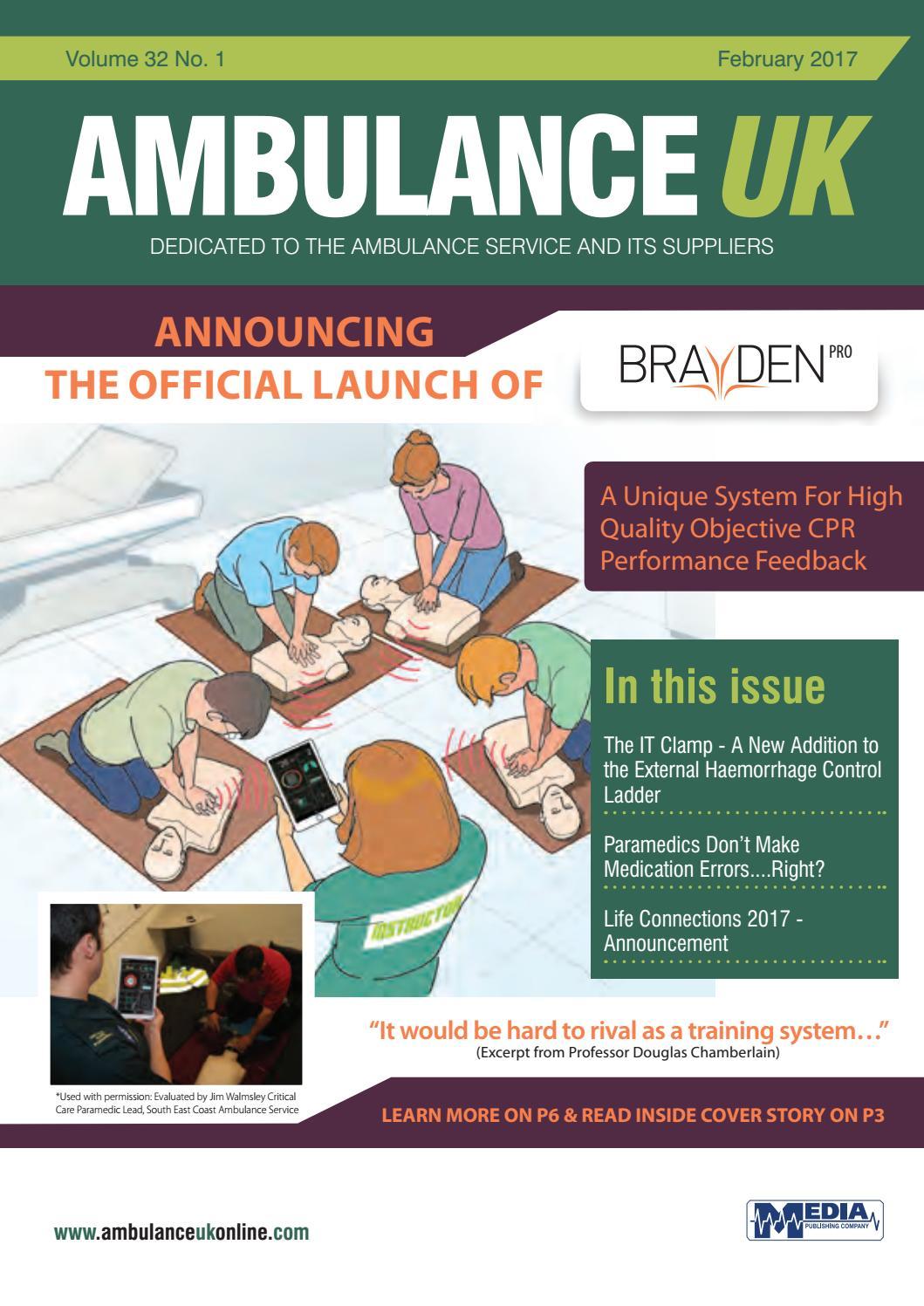 Ambulance UK Feb 2017 by Media Publishing Company - issuu