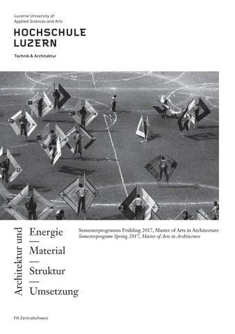 170212 fs17 reader by master architektur issuu for Master in architektur