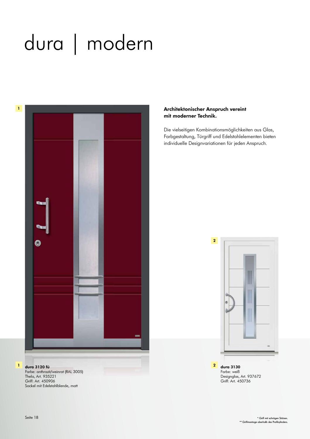 Rekord Haustueren Kunststoff By Kaiser Design   Issuu