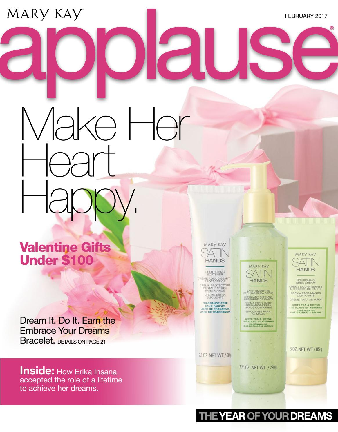 Mary kay online agreement on intouch - Applause February 2017