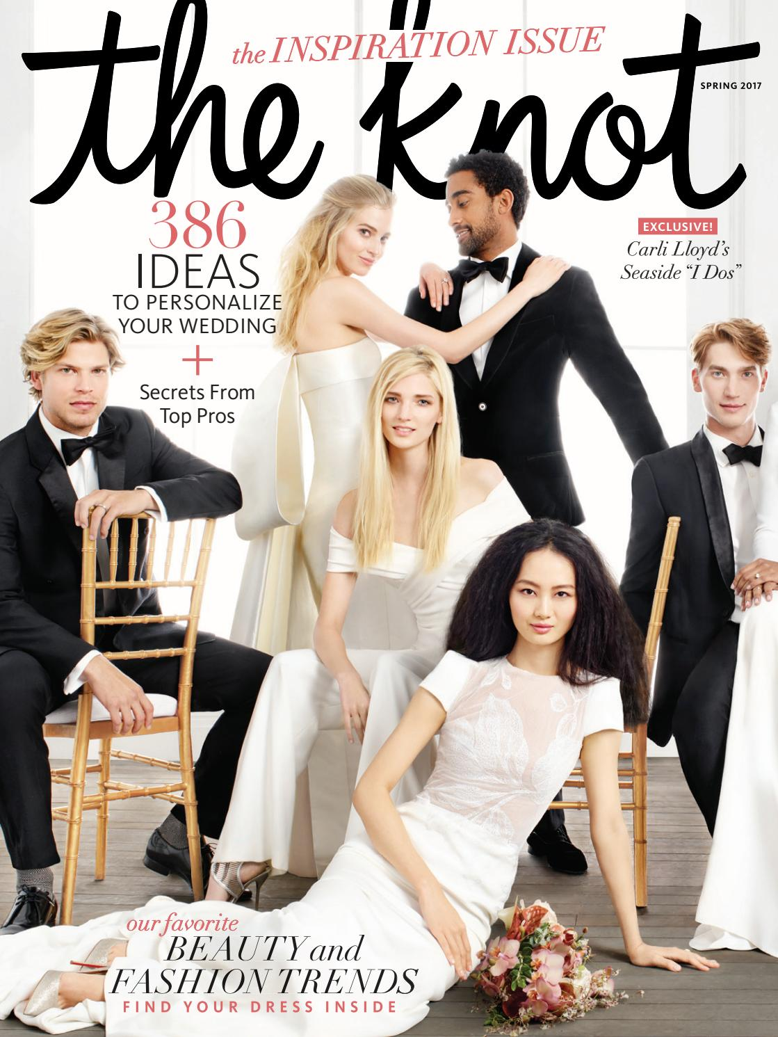 The knot spring 2017 by the knot issuu for Wedding registry the knot