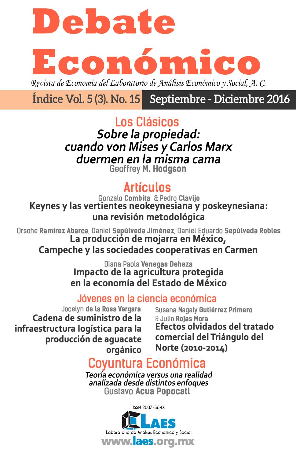Debate Económico No.15 by LAES MEXICO - issuu