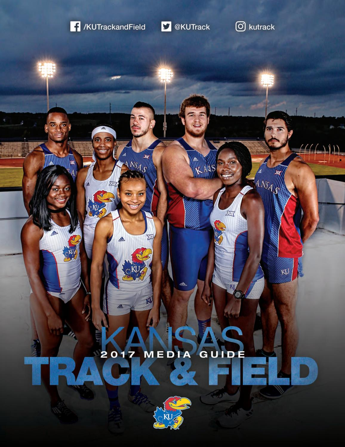 2017 Kansas Track Amp Field Media Guide By Kansas Jayhawks