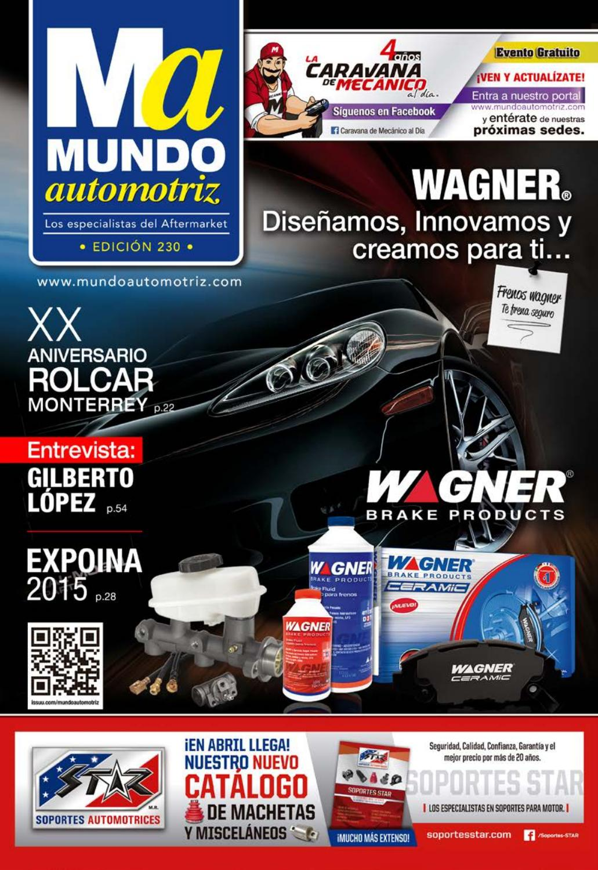 Mundo Automotriz 230 Mayo 2015 By La Revista Issuu Circuitos Miscelaneos