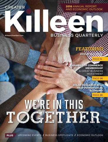 2016 Annual Report & Economic Outlook by Greater Killeen