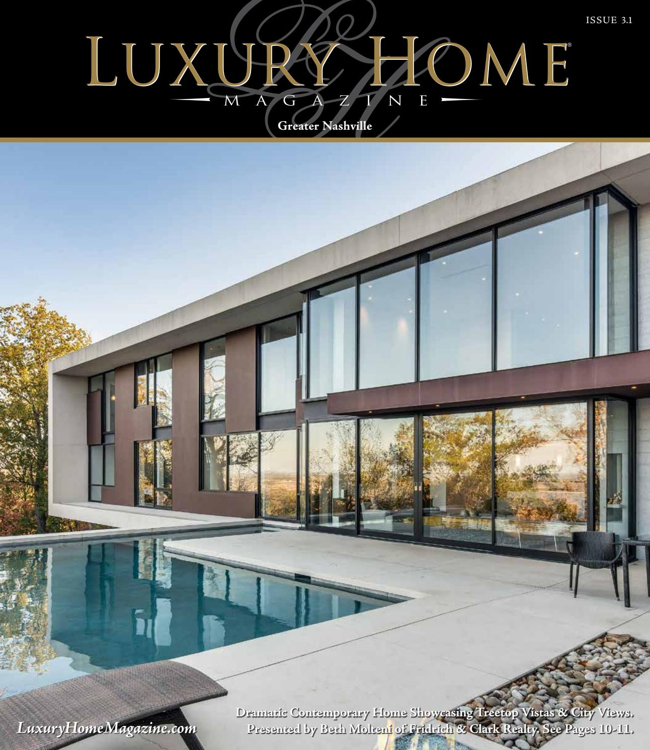 Luxury Home Magazine Nashville Issue 31 By