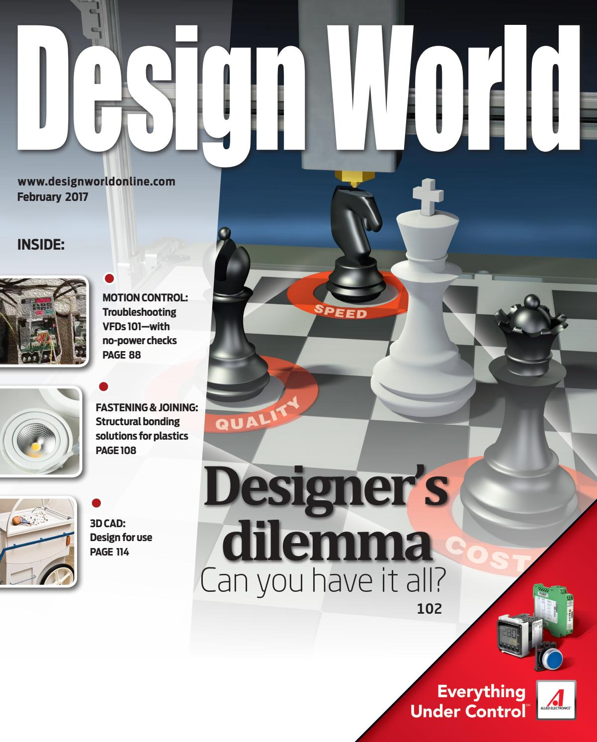 Design World February 2017 By Wtwh Media Llc Issuu Hard Wiring Zsi Oven Including Ge Electric Wall Parts