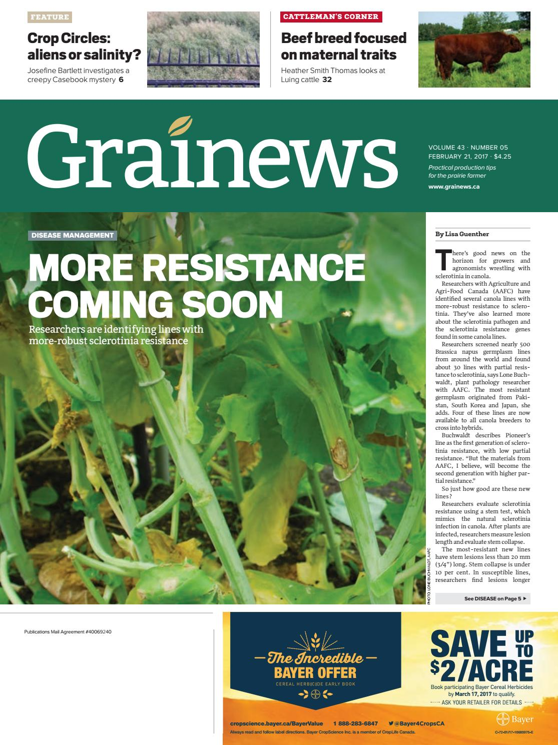 Grainews by Farm Business Communications - issuu
