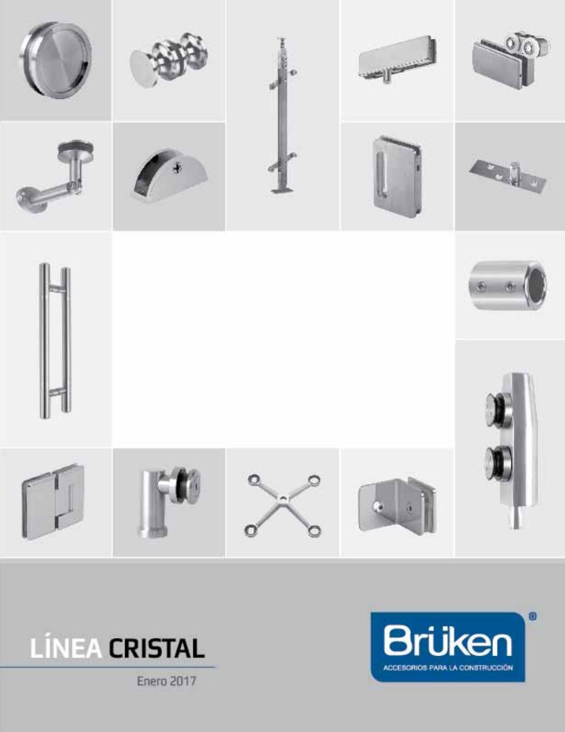 Cat logo de herrajes de cristal enero 2017 by br ken de for Herrajes para toldos de aluminio