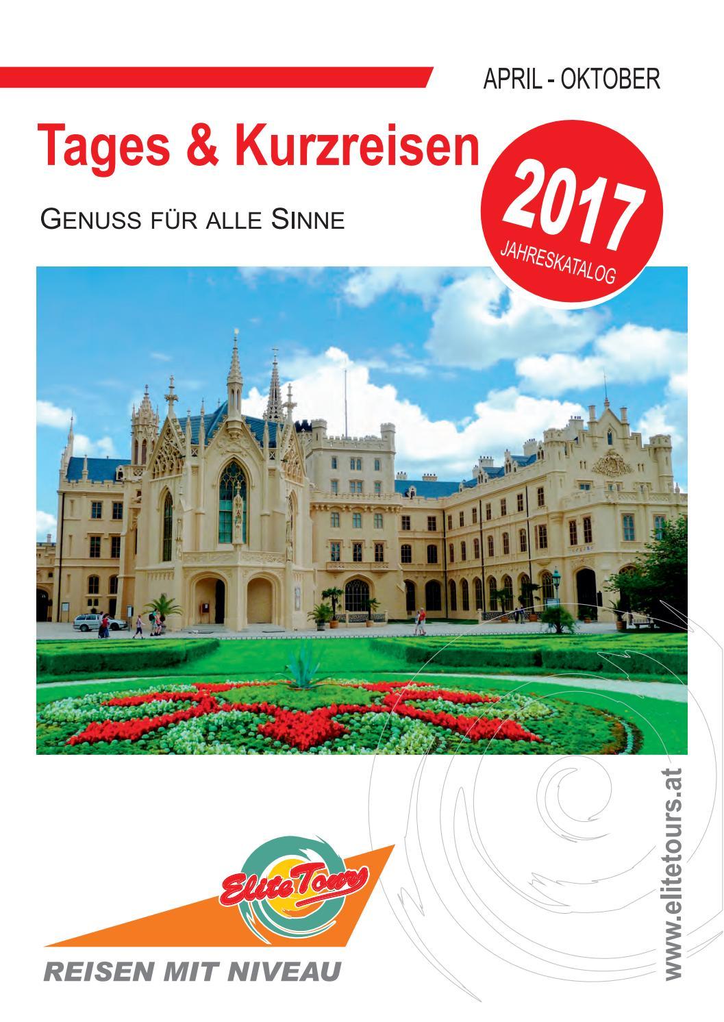 Tages Kurzreisen 2017 By Elite Tours Reiseburo Issuu
