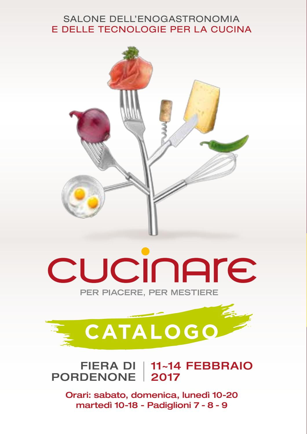 cucinare 2017 catalogo by fiera cucinare issuu