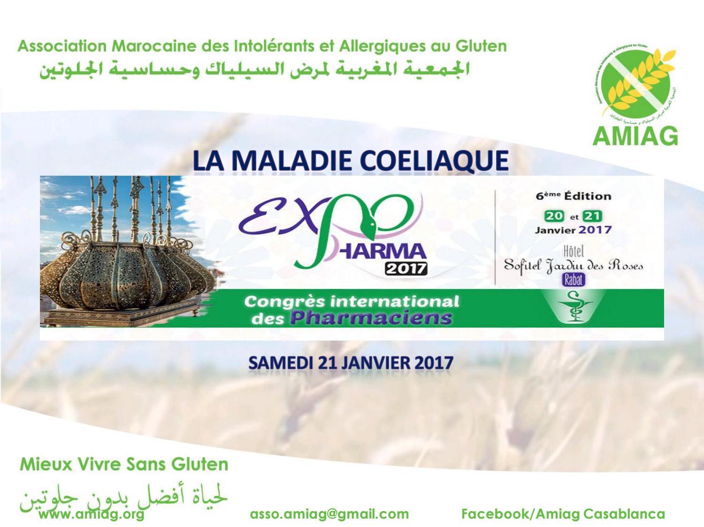La maladie coeliaque à expopharma 2017 by Khadija Moussayer - issuu