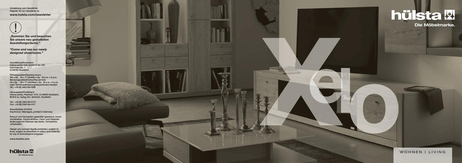 Hulsta Kolekcja Salonowa Xelo By Domatoria Issuu