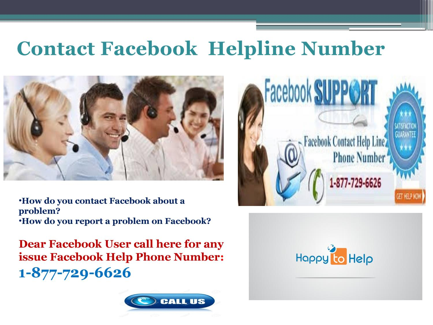 Dial facebook help 1-877-729-6626 to Get the Effective