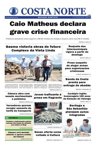 Jornal costa norte 1426 by Costa Norte - issuu 089345403dfb9