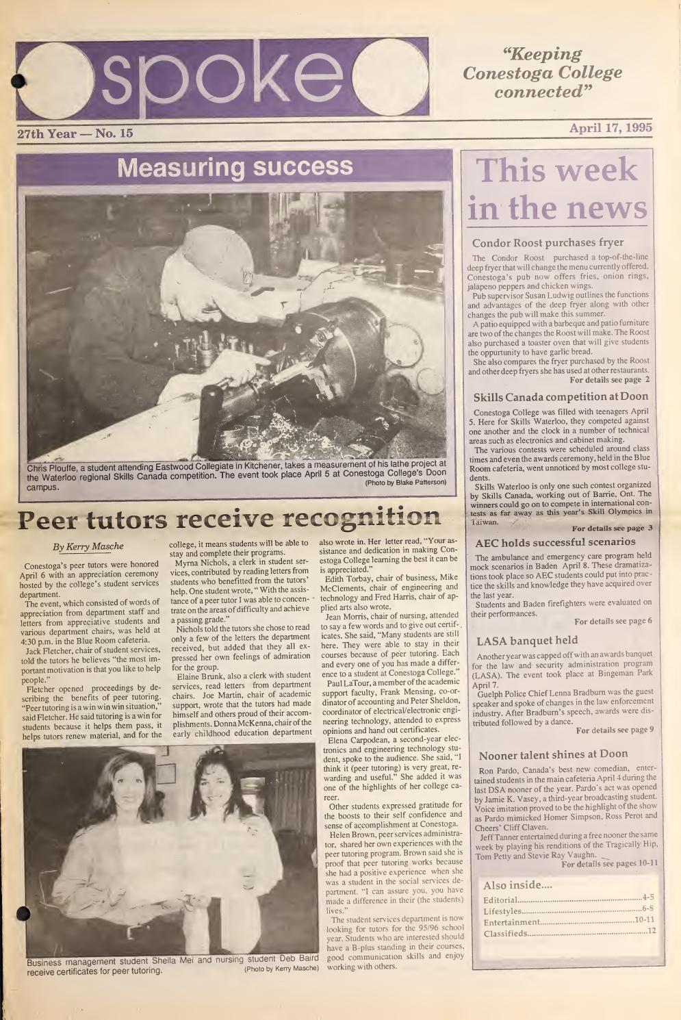 Digital Edition - April 17, 1995 by SPOKENewspaper - issuu