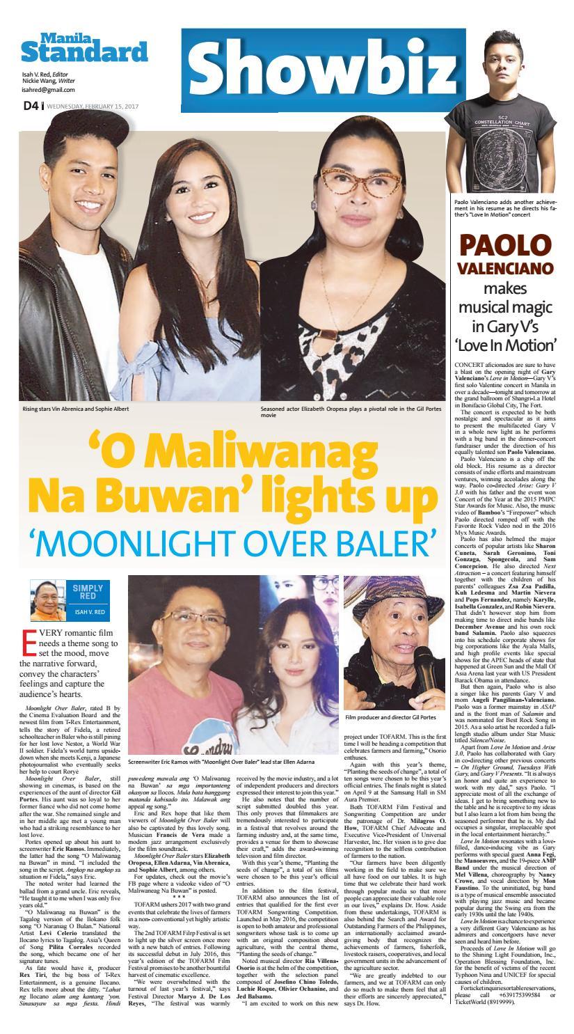Manila Standard - 2017 February 15 - Wednesday by Manila