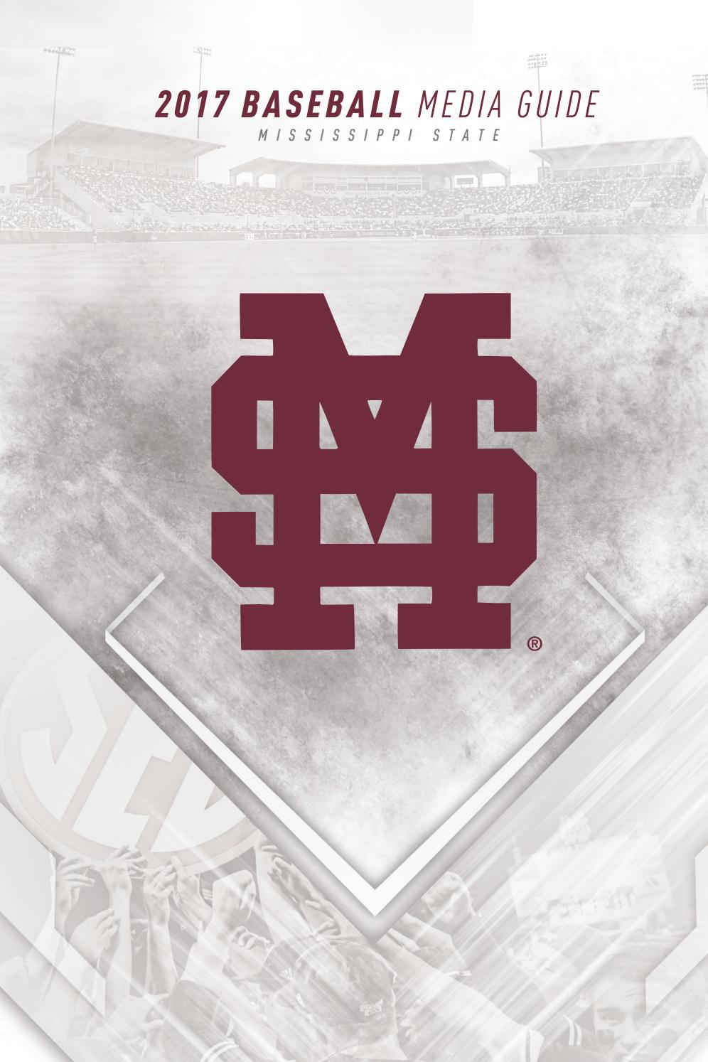 2017 mississippi state baseball media guide by mississippi