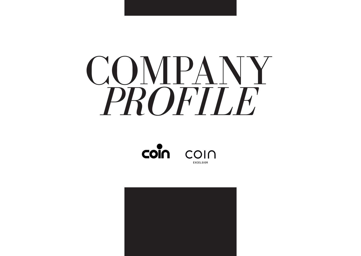 Company Profile Gruppo Ita By Coin Issuu wOPkX8n0N